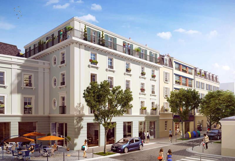 Pontoise - cour de marchandises, assurer la continuité urbaine d'un centre-ville histoirique