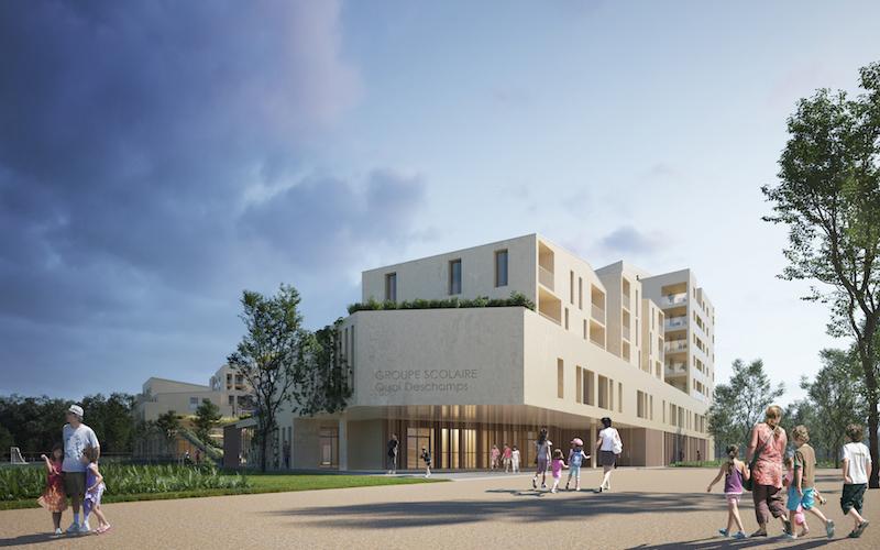 Bordeaux - Garantir l'insertion des fonctions urbaines variées en cœur d'agglomération - Le levier de l'imbrication