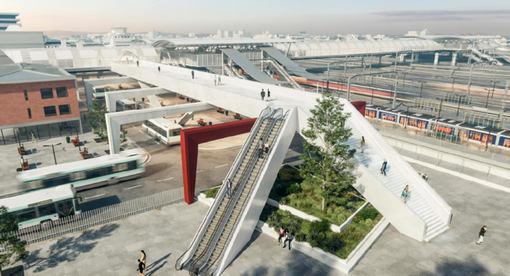 Massy Palaiseau - Réaménagement de la gare routière