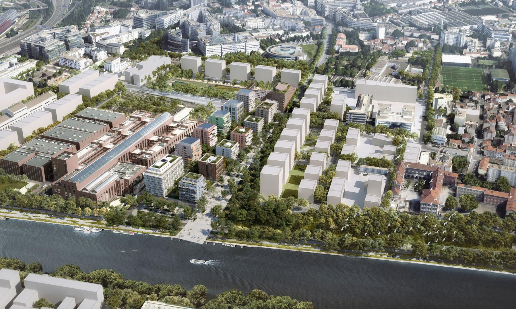 Les Quinconces : Synergies Urbaines, UAPS et la Solideo imaginent le quartier de ville européenne du 21e siècle