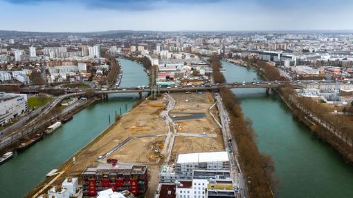 Ile Saint-Denis - Ecoquartier fluvial